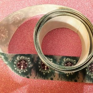 Starbucks Fabric Ribbon